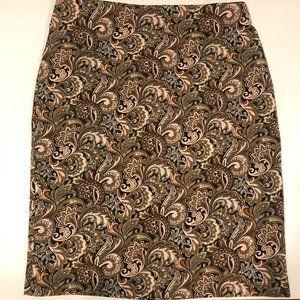 PHILOSOPHY beautiful paisley skirt